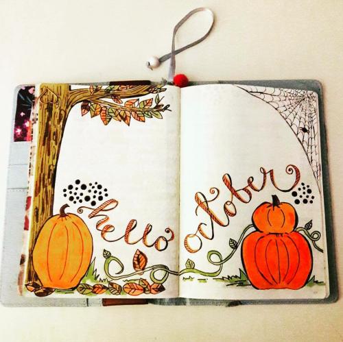 """Hello October"" Cover Pages (+34 de idei care să te inspire)"