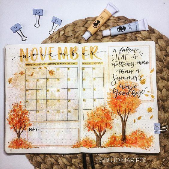 """""""Hello November"""" Cover Pages (+28 de idei care să te inspire)"""