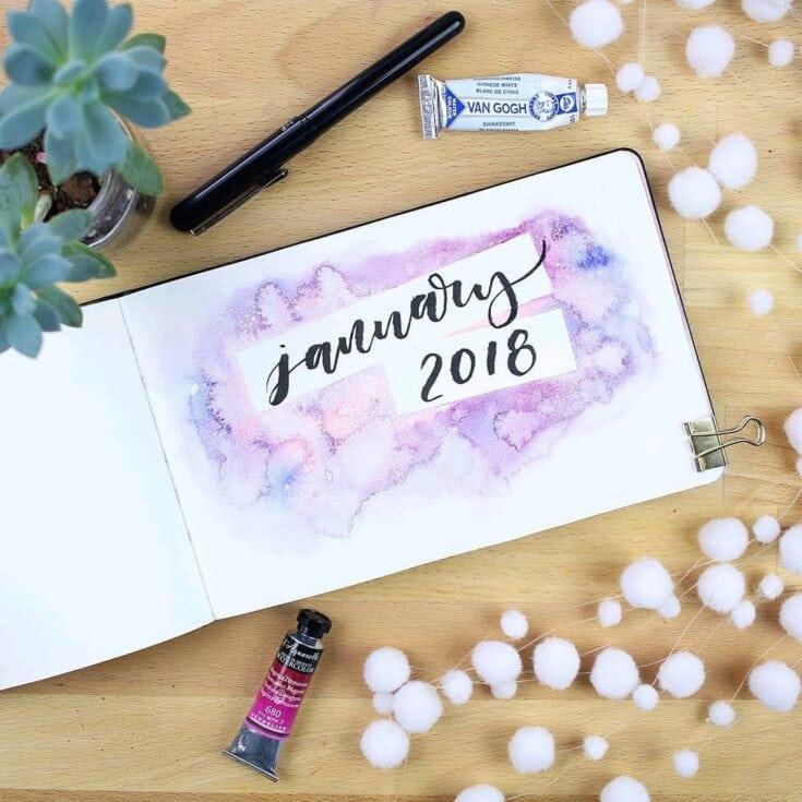 """Hello January"" cover pages + 33 de idei care să te inspire"