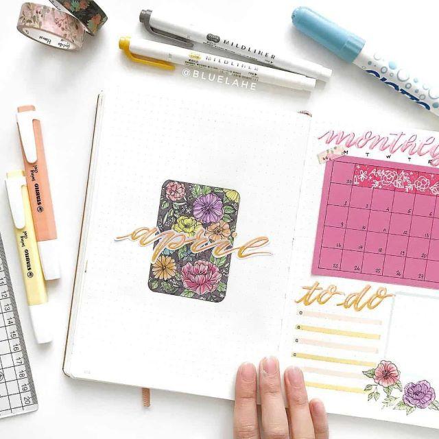 """""""Hello April"""" cover pages + 19 de idei care să te inspire"""